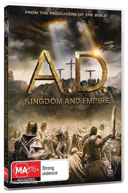 Portada de la serie bíblica A.D. La Biblia continúa