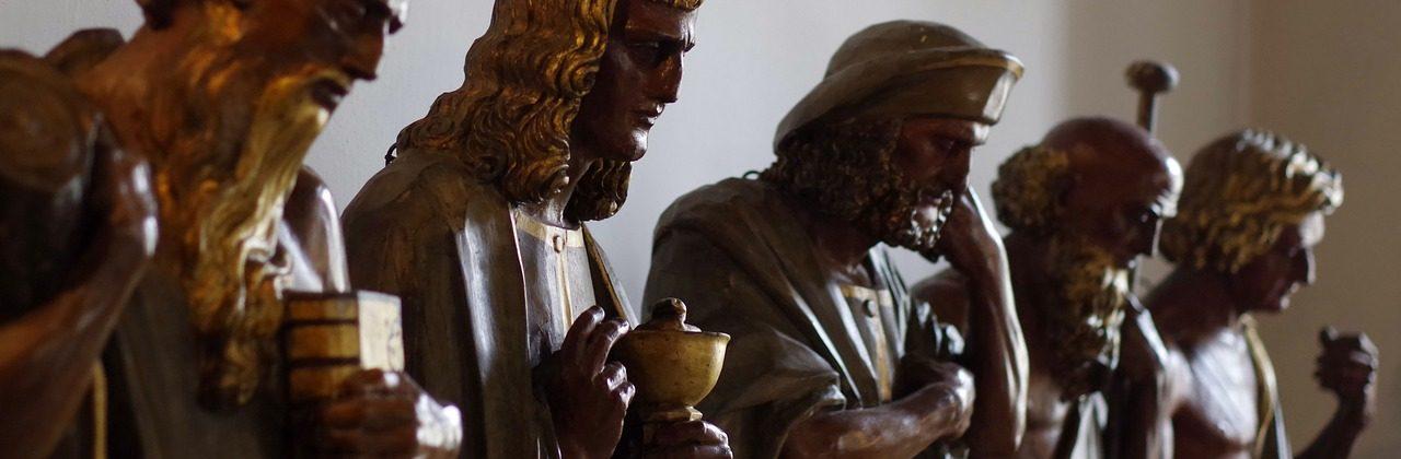 Esculturas de personajes bíblicos