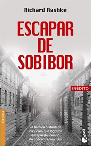"Portada del libro ""Escapar de Sobibor"""