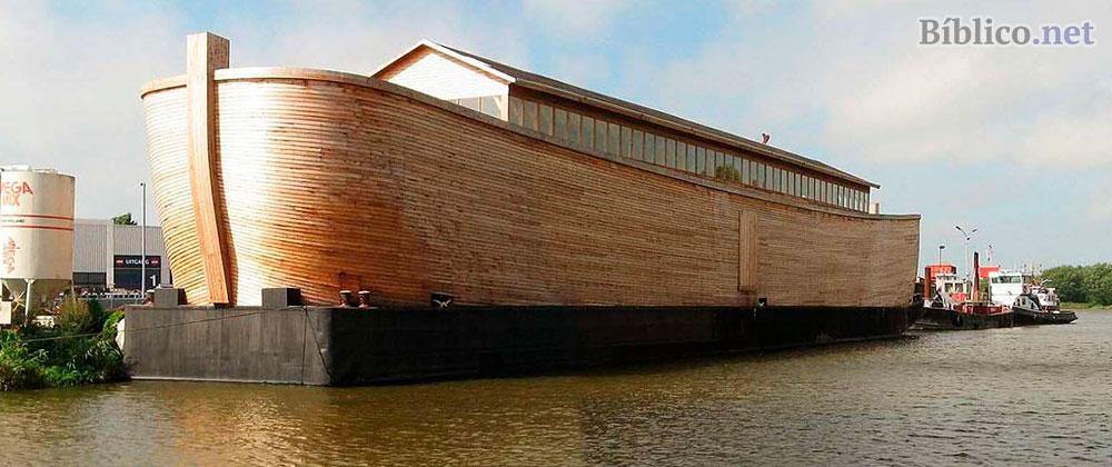 Réplica del arca de Noé.